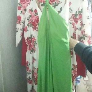 Michael Kors Green Dress